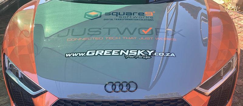 Square 9, DAS Daytona Rally Car